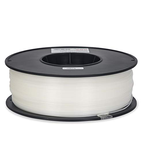 Inland 1.75mm Natural ABS 3D Printer Filament - 1kg Spool (2.2 lbs)