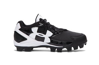 Under Armour Women's Glyde RM Softball Cleat Black/White Size 7.5 M US by Under Armour
