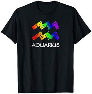 [Featured] Rainbow Gay Pride Zodiac Aquarius in ALL styles | Size S - 5XL