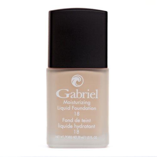 Gabriel Foundation Cosmetics Liquid - Gabriel Cosmetics, Liquid Foundation Warm Beige, 1 Fl Oz