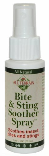 All Terrain Bite and Sting Natural Soother Spray, 2-Ounce Athletics, Exercise, Workout, Sport, Fitness by Athletics & Exercise