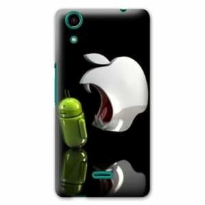 Amazon.com: Case Carcasa Wiko Rainbow Lite 4G apple vs ...