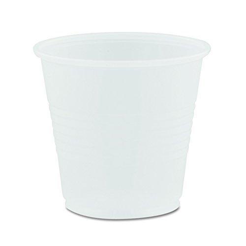 Dart Conex Translucent Plastic Cold Cups, 3 1/2 oz., 100 cups/bag, 2400 per Case -