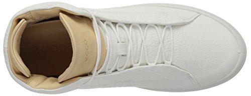 Sneakers Femme Ecco White Veg Kinhin Tan Hautes Weiß qxwAw
