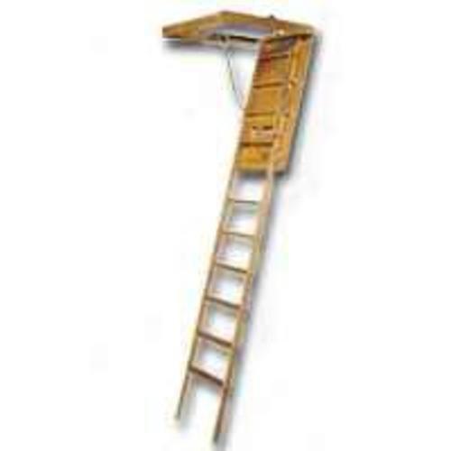 LOUISVILLE LADDER FTL224P Wood Attic Ladder, 1210