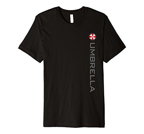 Mens Umbrella Corporation UCWRG Vert Logo T-Shirt