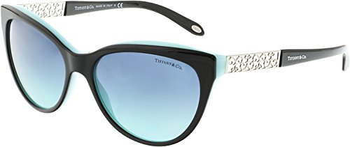 Tiffany TF4119 8055-9S Black TF4119 Cats Eyes Sunglasses Lens Category 2 Size 5 (Sunglasses Tiffany)