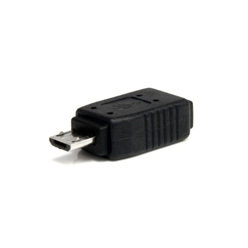 StarTech.com Micro USB to Mini USB 2.0 Adapter M/F - Micro to Mini USB Adapter - Mini USB Adapter - Micro USB to Mini USB