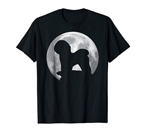 Bichon Frise Eclipse Full Moon T-shirt Halloween Costume -