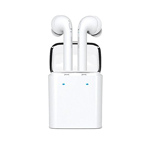 Price comparison product image Wireless Earbuds, AutumnFall Twins Truly Wireless Bluetooth Sports Headphone Noise Cancelling Stereo Earphone With Mic for iPhone 7 Plus / iPhone 7 / Samsung / Sony / Android