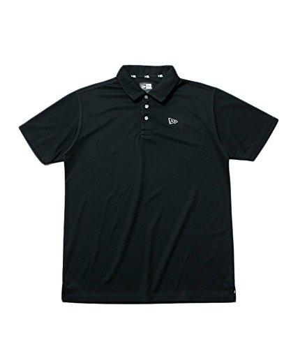 ニューエラ ポロシャツ ◆ NEW ERA 【ゴルフ】 ポロシャツ 鹿の子ポロ ブラック 11556840 メンズ アパレル トップス 半袖 ロゴ シンプル スポーツ|M ブラック