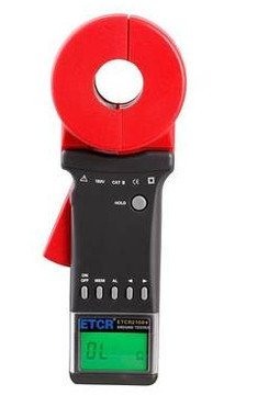 Etcr2100+ Digital Clamp on Ground Earth Resistance Tester Meter with 0.01-1200 ω by Gerneric