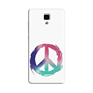 Cover It Up - Pastel Peace Mi4 Hard Case