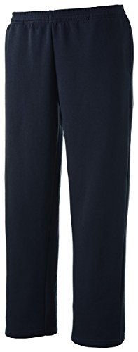 Sport-Tek Open Bottom Sweatpant>M True Navy - Gear Fleece Tek