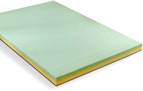 Sleep Master 1.5 2 3 4 Inch Memory Foam Mattress Topper 4 , King