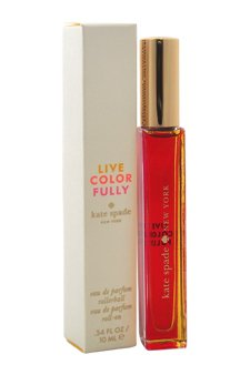 Kate Spade EDP Rollerball, Live Colorfully, 0.34 Ounce