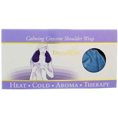 DreamTime Calming Crescent Shoulder Wrap, Larkspur Blue