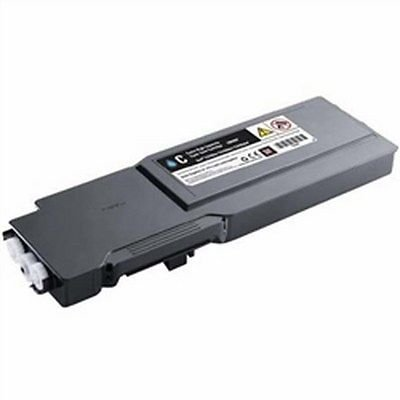 New CYAN Toner for DELL 331-8424, 331-8428, 331-8432, 1M4KP, FMRYP, C3760DN