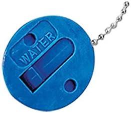 Nuova Rade Ersatz Tankdeckel Kraftstoff Wasser mit Kette Deckel rot blau