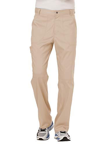 Cherokee Men's Fly Front Pant Short, Khaki, XX-Large from Cherokee