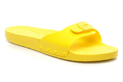 Amarillo Scholl Size 16 Sandalias Verde De Gris Mujer Para Claro Goma 5 36 Pop Vestir 7a7OrqwS