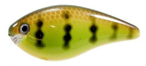 Baits, Lures & Flies Strike King KVD Square Bill Crankbait Chartreuse Perch
