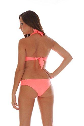 Livia Bikini-Hose Slip Madrilena Valerie Korallrot Orange B0V6cVwoeH