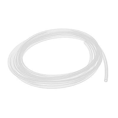 Air Hose Pipe - TOOGOO(R) 2mm x 4mm Silicone Food Grade Tube Beer Water Air Hose Pipe 3 Meters