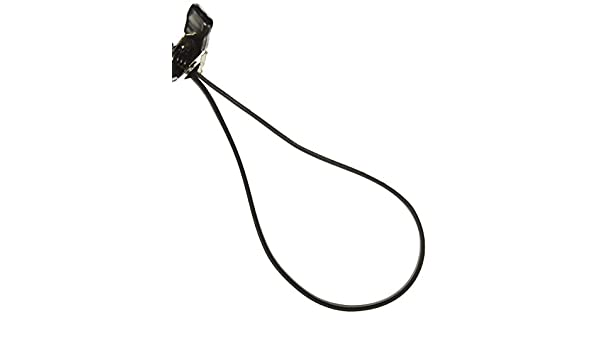 V-Ribbed Belt Black BESTORQ 390J8 Rubber V-Belt 39 Length x 0.744 Width x 0.17 Height