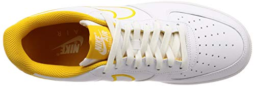 Pictures of Nike Men's Air Force 1 '07 White/ Yellow Ochre 7.5 M US 2