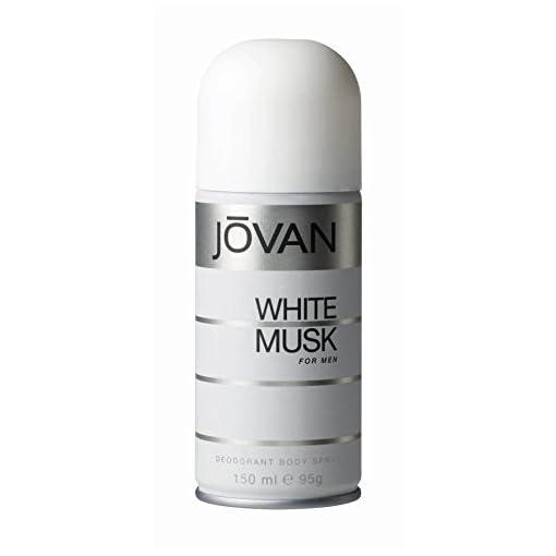 Jovan White Musk Body Spray For Men