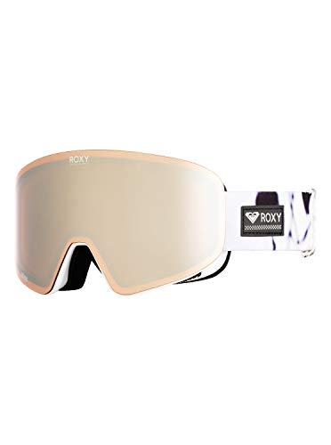 Roxy Womens Feelin - Snowboard/Ski Goggles - Women - One Size - Black True Black White Birds One Size (Roxy Goggles)