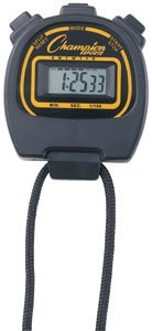 Big Display Coach's Stop Watch w/ Lap Counter (Shock/Water Resistant) All Sports: Football/Soccer/Hockey/Running/Swimming/Etc