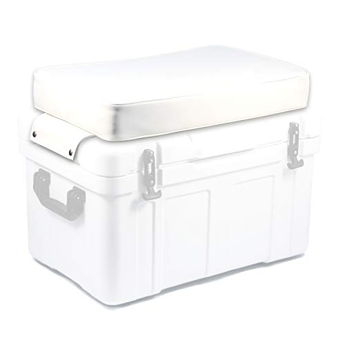 Currituck Durable Cooler Lid Cushion by Camco -Transform Your Cooler Into a Seat-(White) ()