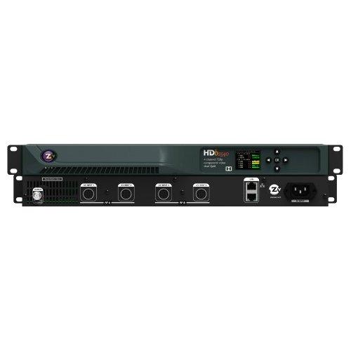 ZeeVee HDb2540-DT ZeeVee HDb25240 DT 4 Channel HDbridge 2000 Series Encoder / Modulator -720p