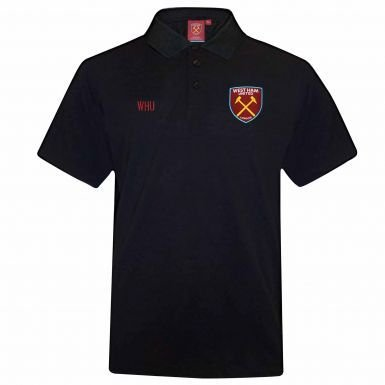 West Ham United Shirt - Official West Ham United Leisure Polo Shirt
