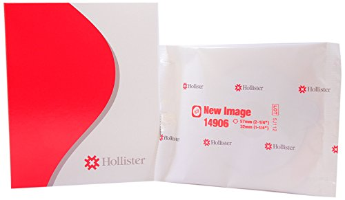 Hollister 14906 New Image Pre-Cut Skin Barrier 2 1/4