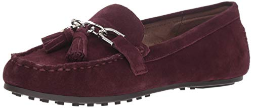 Aerosoles Women's Soft Drive Loafer, Wine Suede, 9 M US