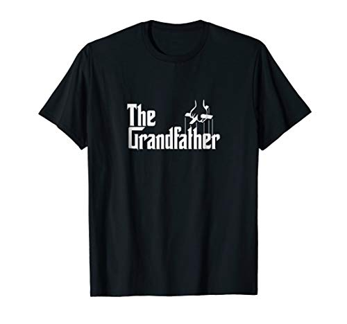 The Grandfather Funny Father's Day Godfather T-Shirt