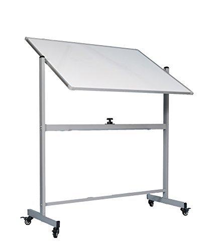 Amazoncom Officegenius Large Mobile Magnetic White Board On