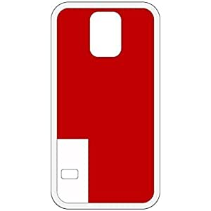 Abu Dhabi Flag White Samsung Galaxy S5 Cell Phone Case - Cover