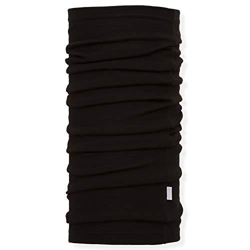 Neck Gaiter Unisex (MERIWOOL Unisex Merino Wool Neck Gaiter - Black)
