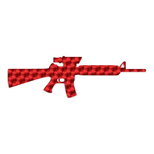 New AR-15 Scope AR-556 - Vinyl Decal Sticker - 12