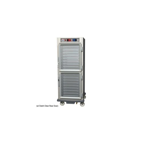 - Metro C599-NDC-LPDC C5 9 Series Pass-Thru Heated Holding Cabinet, Full Height, Aluminum, Dutch Clear Doors/Dutch Clear Doors, Lip Load Aluminum Slides