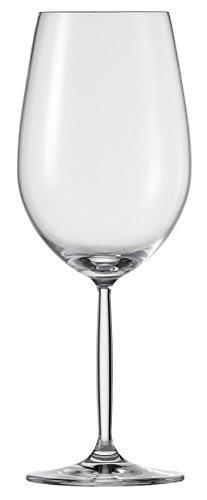 Diva Wine Glass (Schott Zwiesel Tritan Crystal Glass Diva Living Stemware Collection Bordeaux Red Wine Glass, 19.9-Ounce, Set of 6)