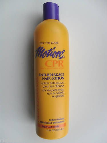 - Motions CPR Anti-Breakage Hair Lotion, 12 oz