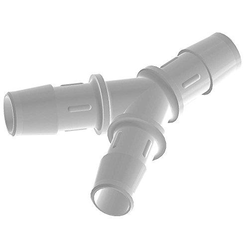 Y Connector, 1/2 In, Polypropylene Y0-8 PP-QC (0.5