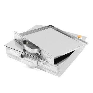 Stainless Steel Tray 1 Layer Steamed Vermicelli Rice Roll Machine Kitchen Cooking Steamer Drawer - Hardware & Accessories Industrial Hardware - 1 x Rice Roll Steamer Machine- 1 x Plastic Cleaner