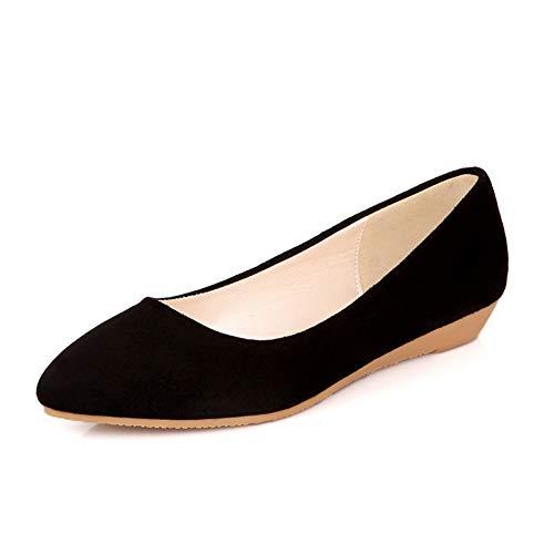 AdeeSu Sandales Noir SDC05512 Compensées Femme BrWHwpBgq