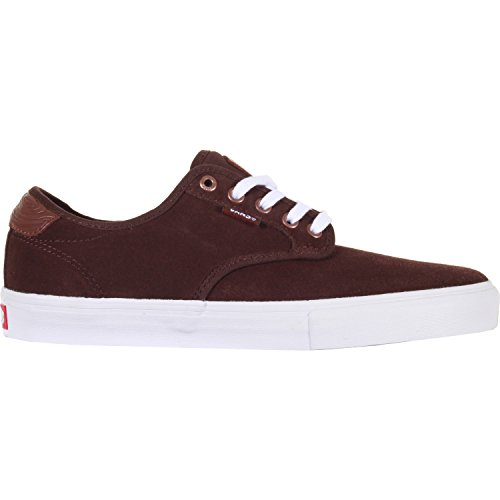 Vans Chima Ferguson Pro Skateboarding Shoe, Pacific NW Coffee Bean (10.0)
